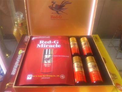 Nước hồng sâm tăng lực RED-G Miracle