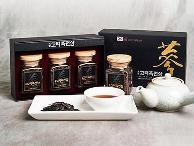 TPCN: Hắc sâm thái lát Daedong 3 lọ (75g/lọ) - Black Ginseng