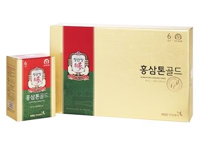 TPCN: Nước Hồng Sâm 6 năm tuổi KGC (Hộp 40ml x 30gói)_Korean red ginseng tonic gold